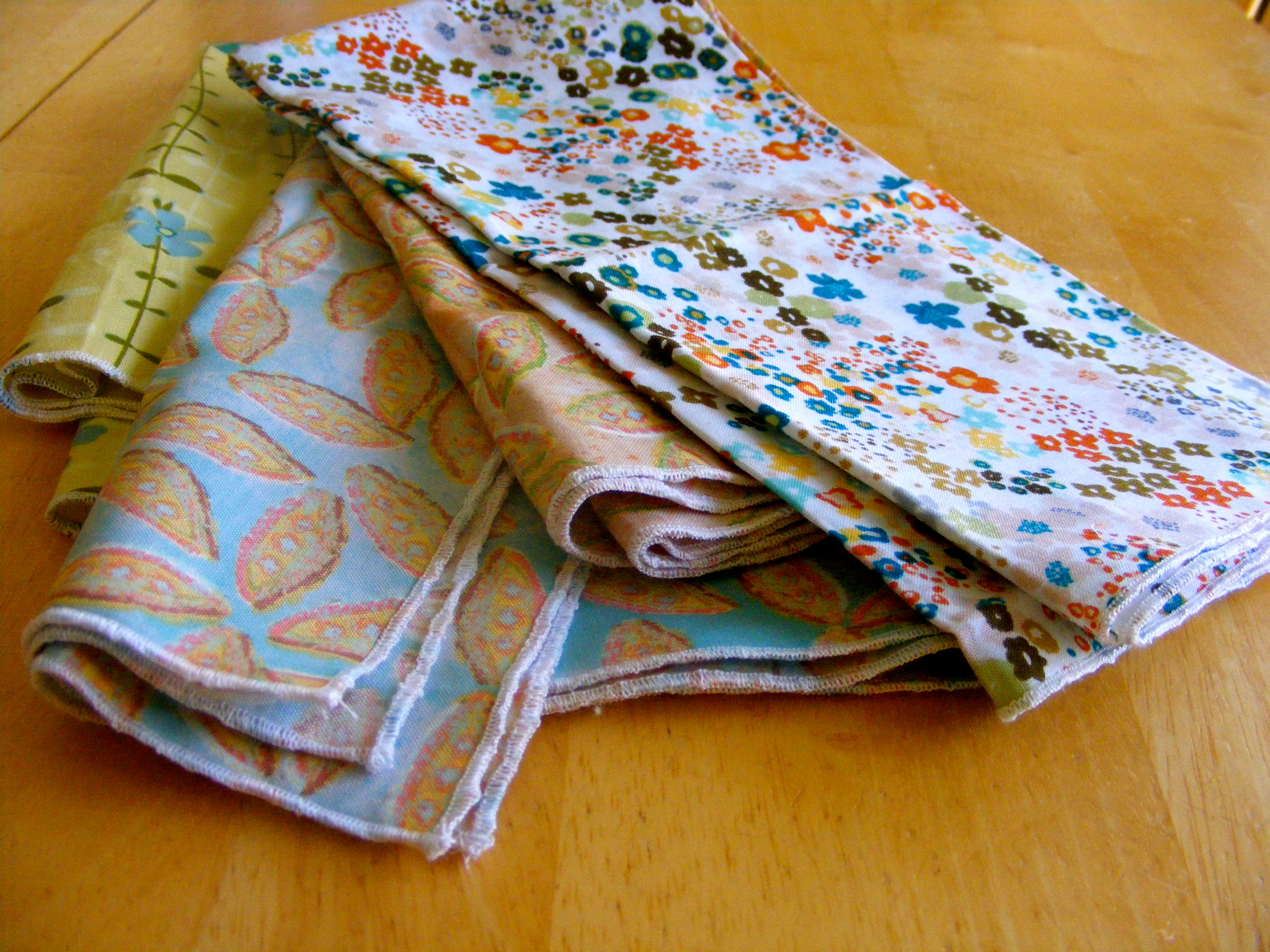 Cloth Napkins If Only They Would Nap