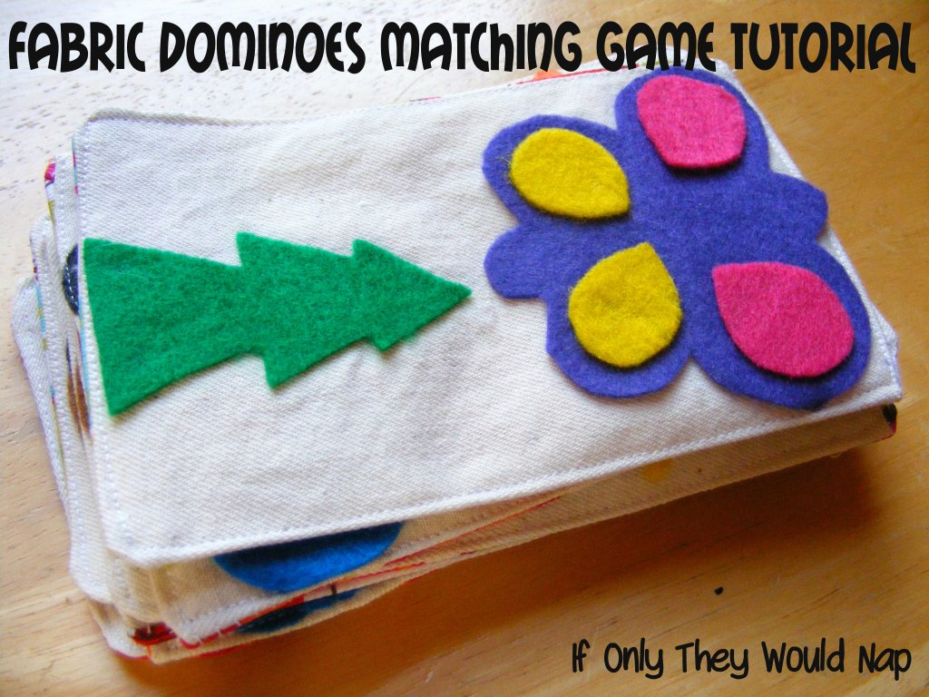 fabric dominoes tutorial