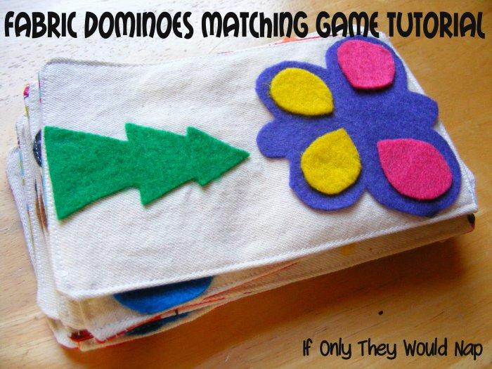 fabric dominoes tutorial