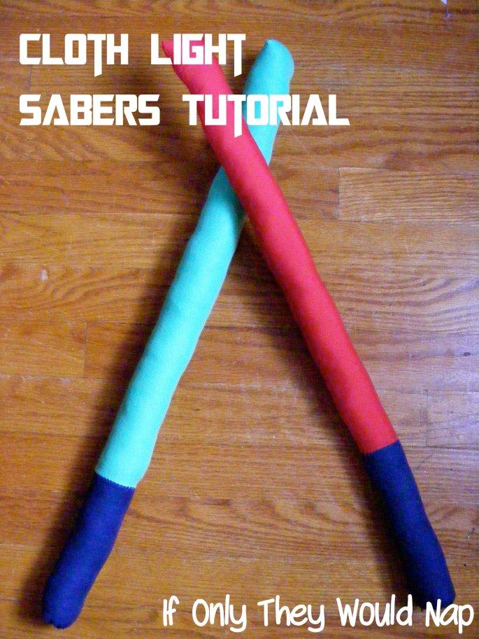 light sabers tutorial