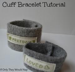 cuff bracelet tutorial