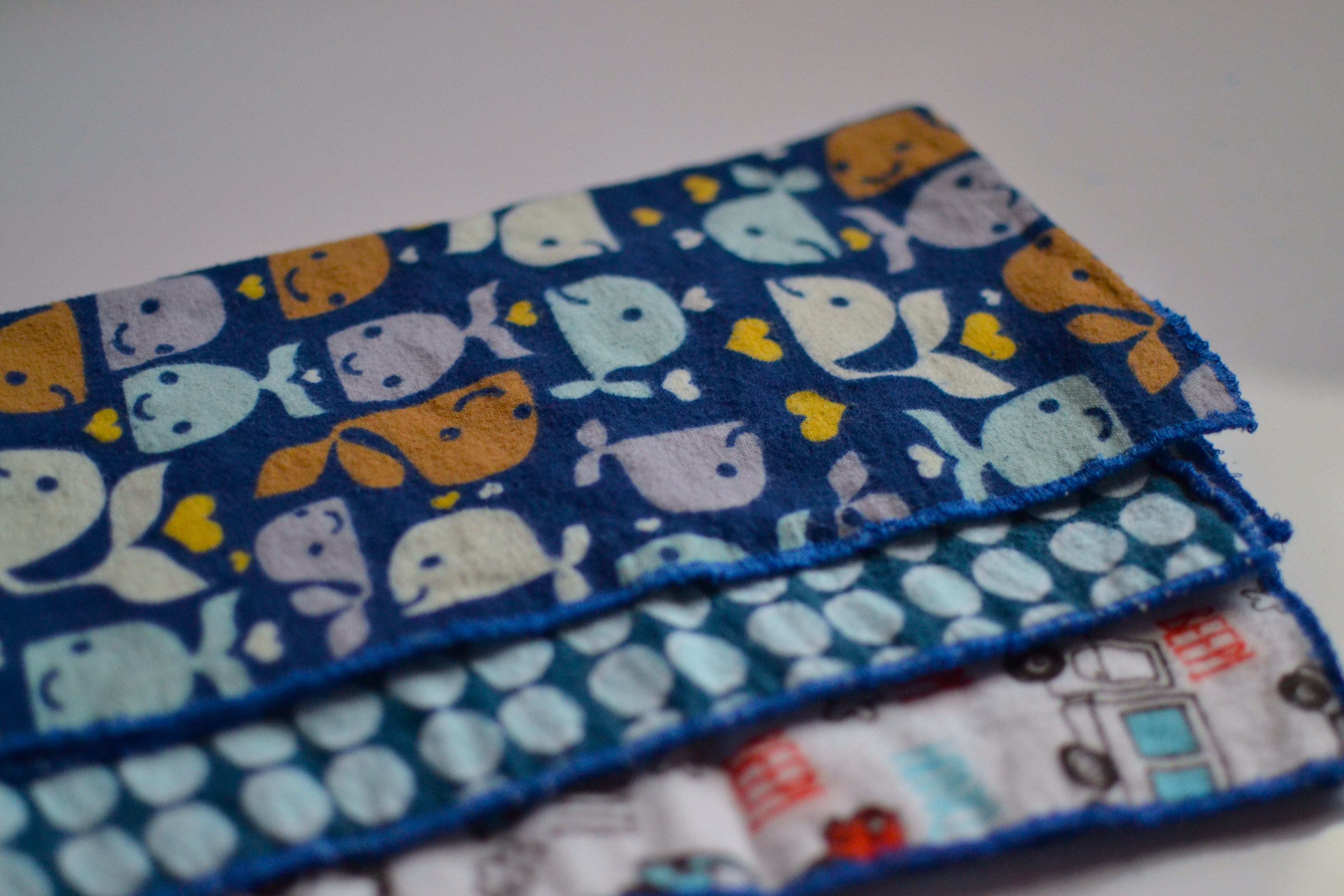 Getting Ready for Baby Cloth Wipes and Burp Cloths