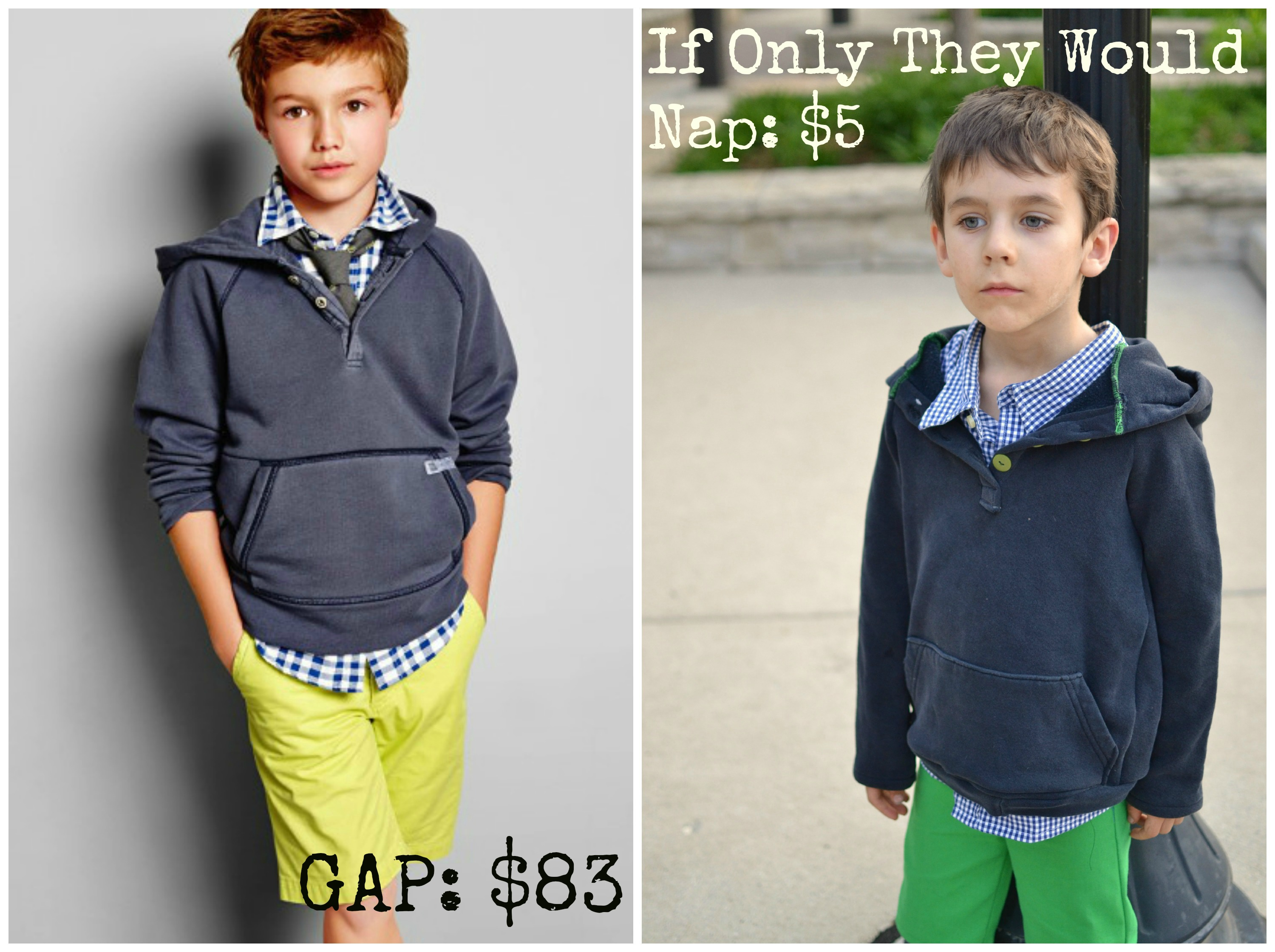 GAP | If Only They Would Nap...