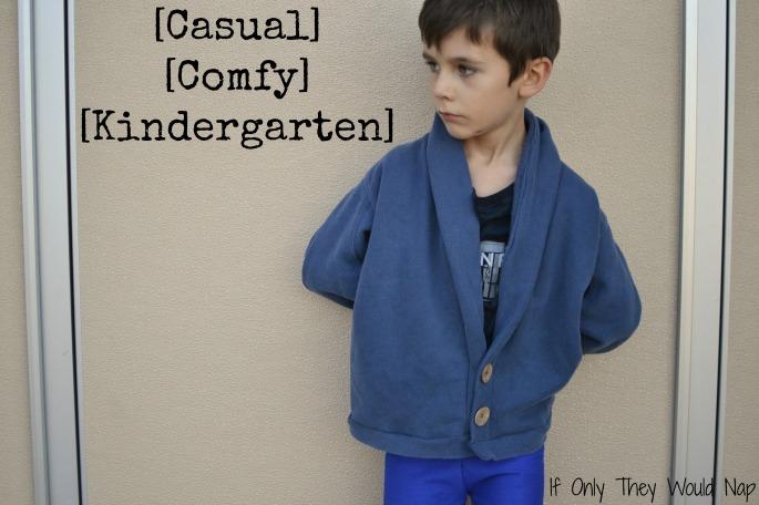 casual comfy kindergarten