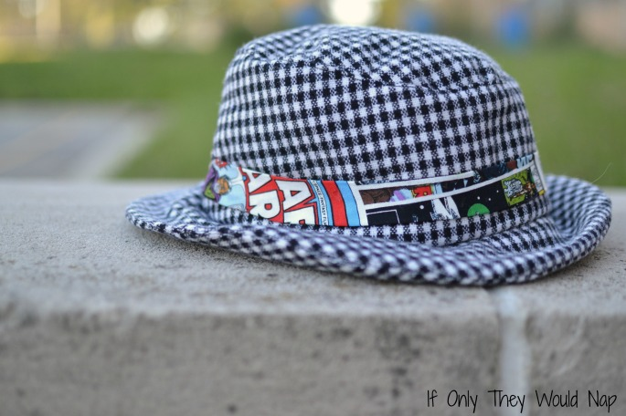 fedora hat // if only they would nap