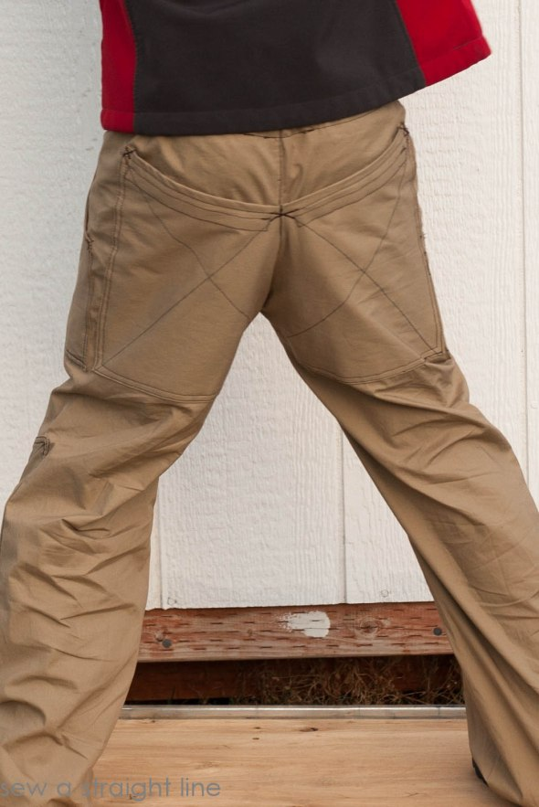 eXtreme Parsley Pants outdoor sew a straight line-10