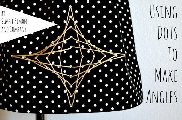 Lines and Angles skirt