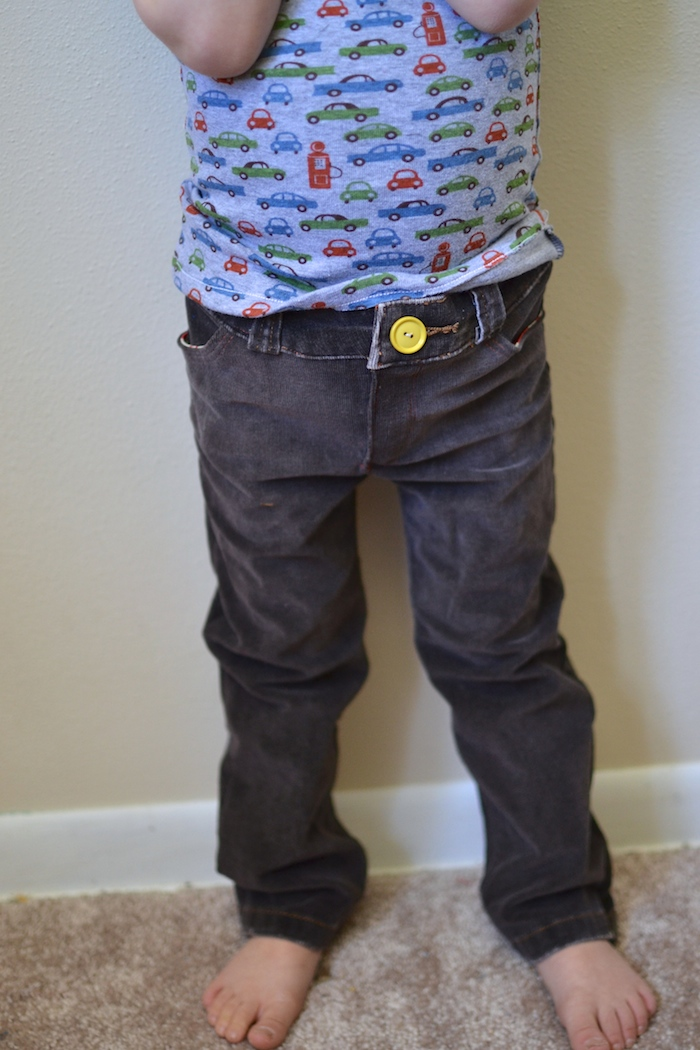 Upcycled Small Fry Skinny Jeans