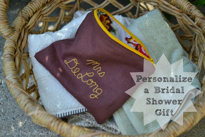 Wedding Shower Gifts For Her: Personalize A Bridal Shower Gift