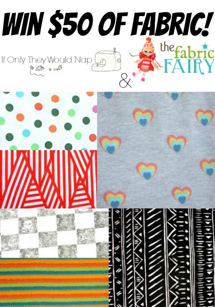 win 50 of fabric