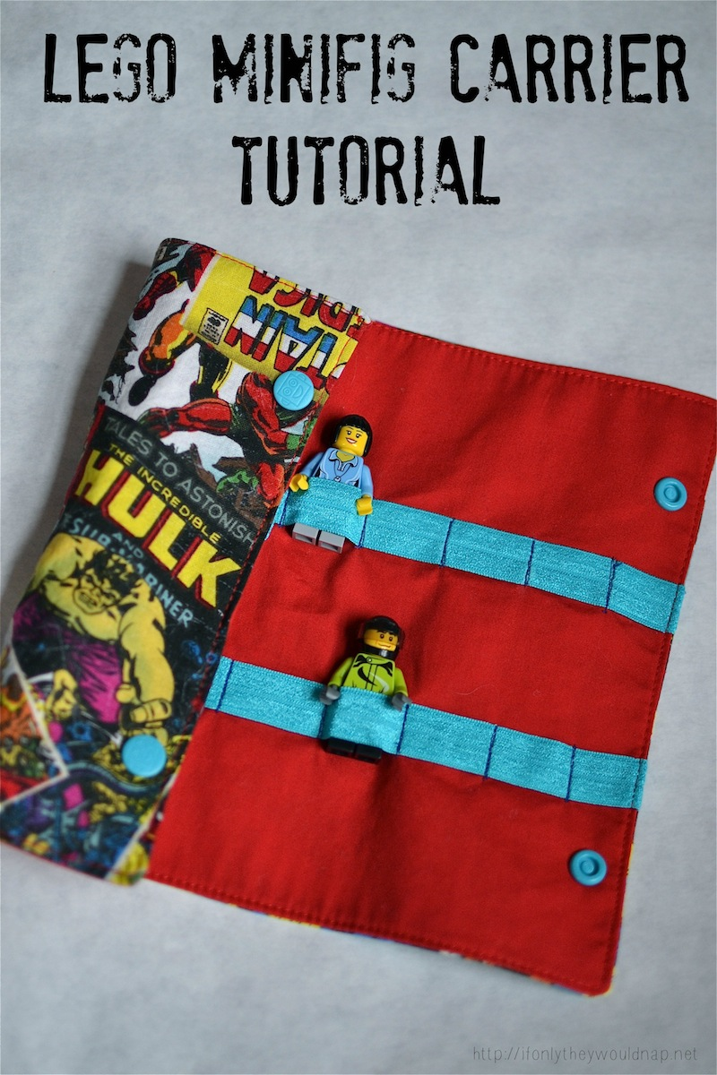 Handmade Gifts for Boys Day 1: Lego Minifig Carrier Tutorial | If ...