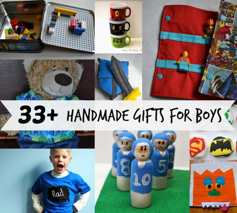 Boy gift tutorials if only they would nap for Easy diy gifts for boys
