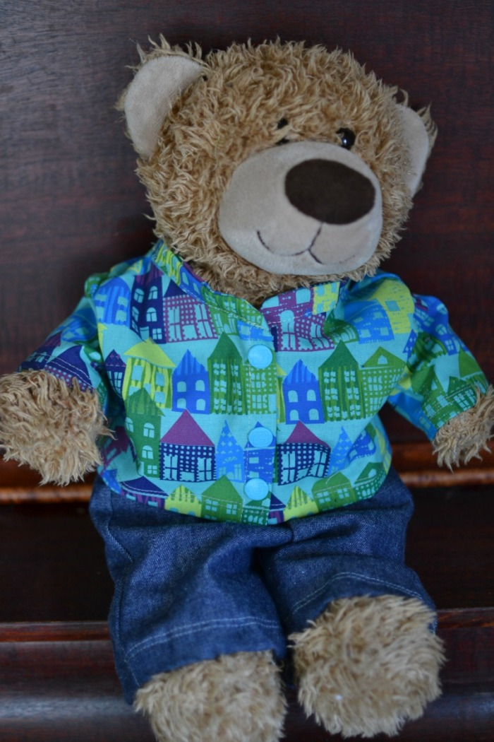 Handmade Gifts For Boys Day 4 Teddy Bear Dress Up