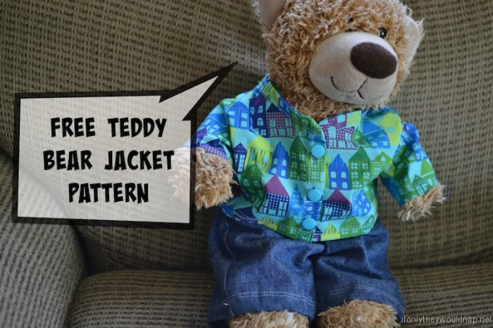 ... Teddy Bear Dress-up Clothes (and FREE pattern!) | If Only They Would
