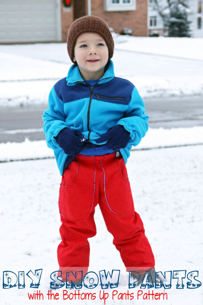 DIY Snow Pants