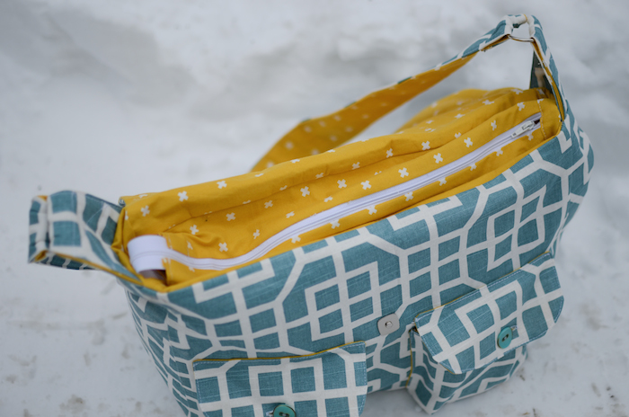 DIY diaper bag | If Only They Would Nap...