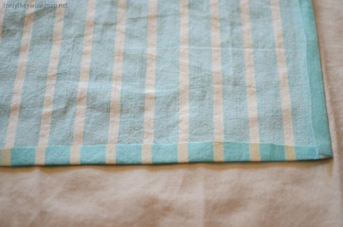 spring table runner step 3