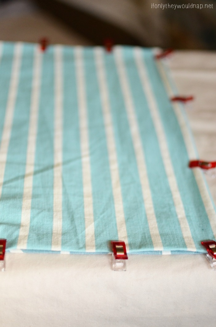 spring table runner step 4