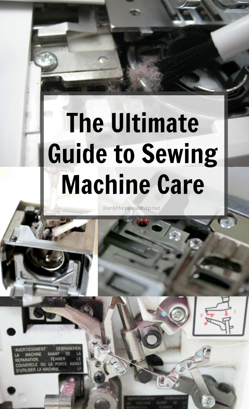 guide to sewing machine
