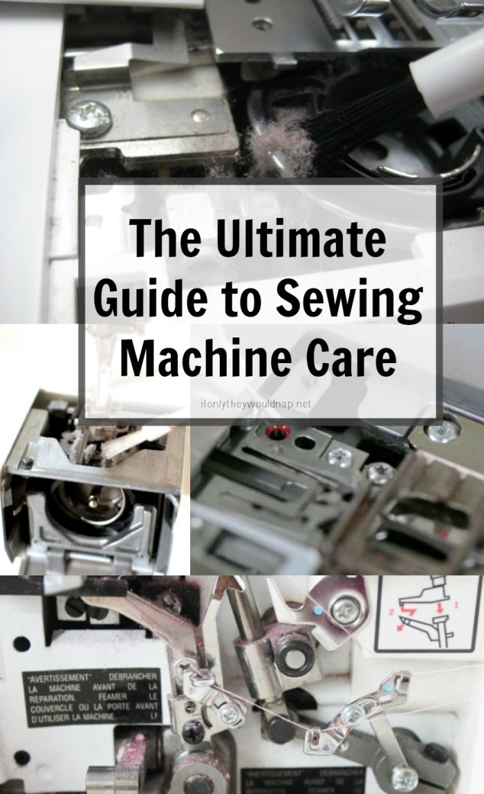 The Ultimate Guide to Sewing Machine Care