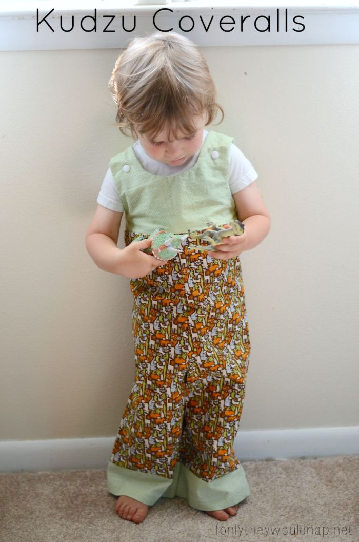 Kudzu Coveralls pattern by Sew Like My Mom