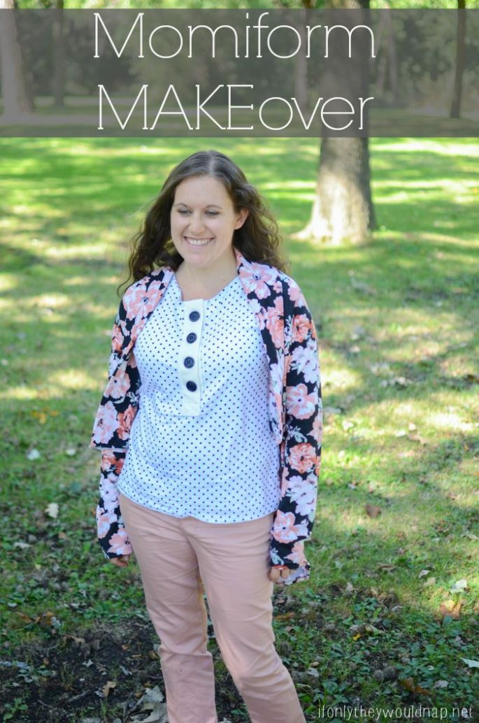 Momiform MAKEover - updating the mom uniform