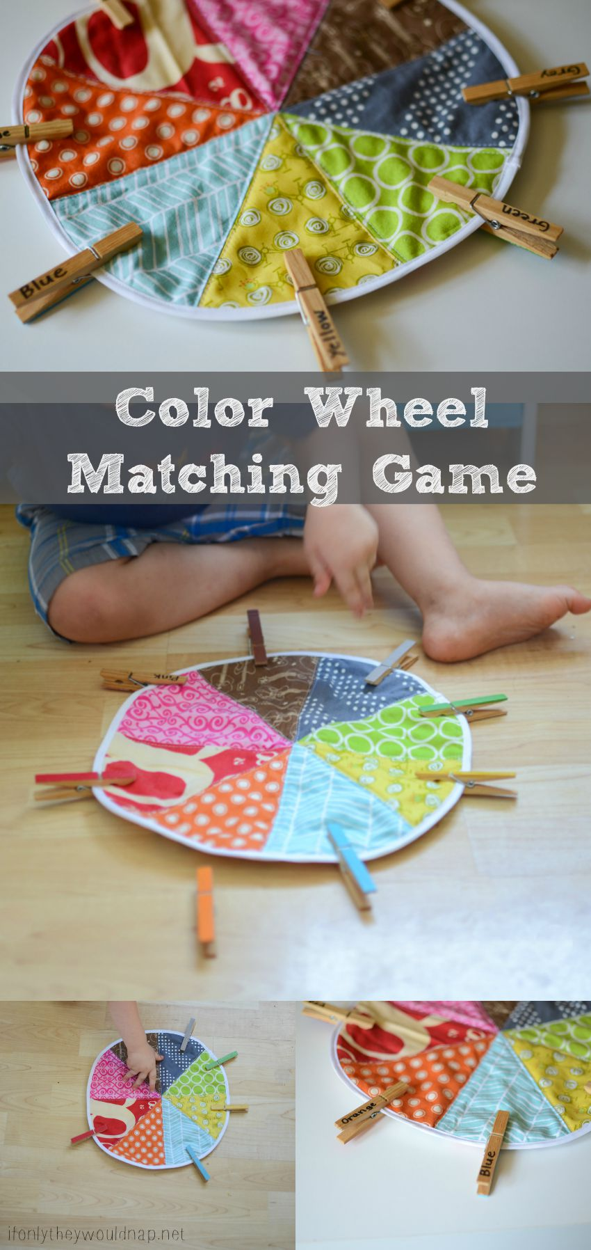 Preschool color wheel matching game silo sage - Sage green color wheel ...