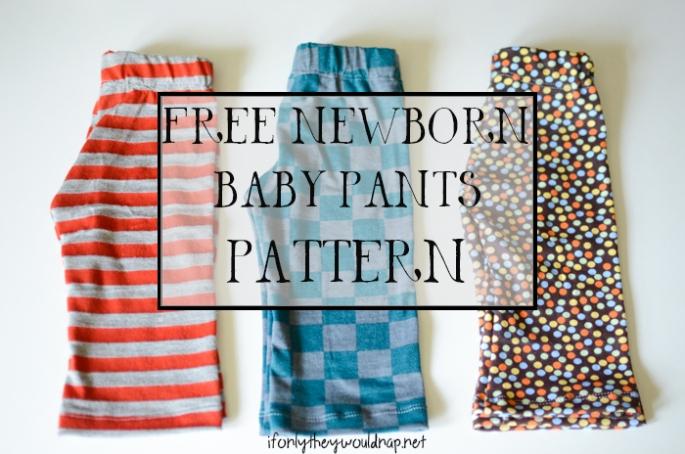 Free Baby Pants Pattern