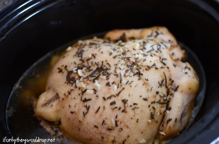 Crockpot chicken that's easy and yummy