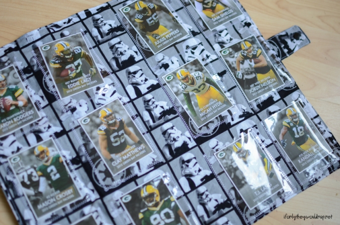 DIY trading card carrier