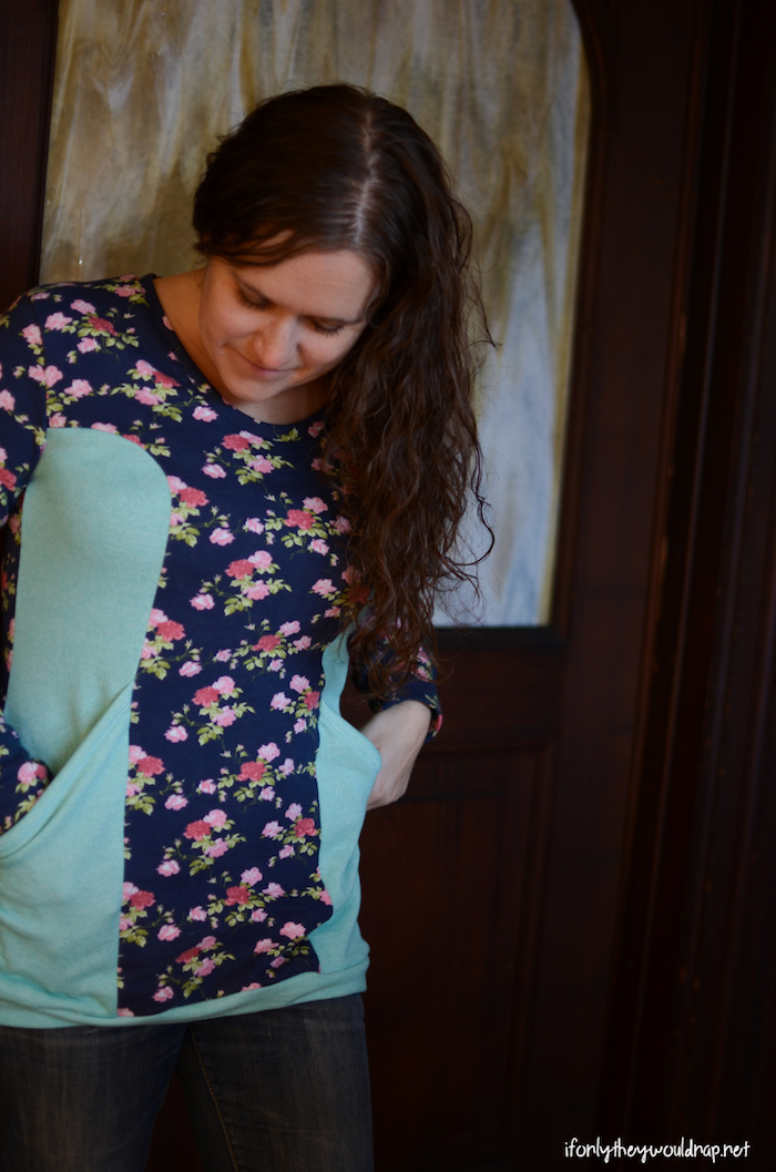 Blank Slate Patterns Denver Tunic sewn by If Only the Would Nap - Melly Sews