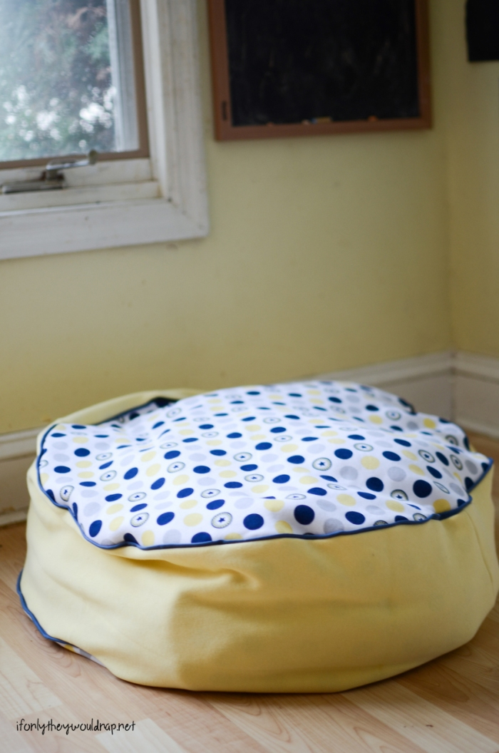 comfy floor cushion tutorial