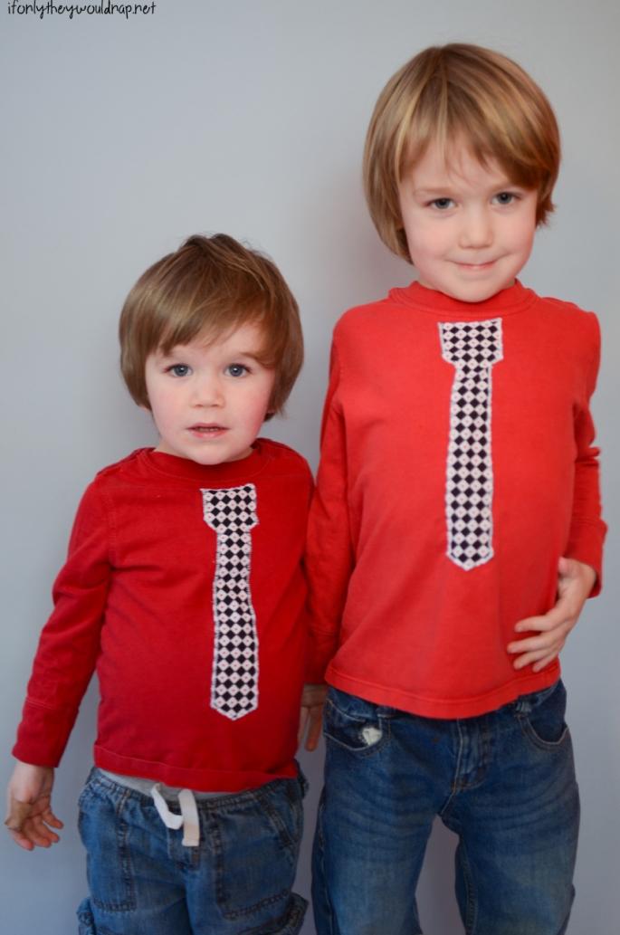 boys valentine shirt