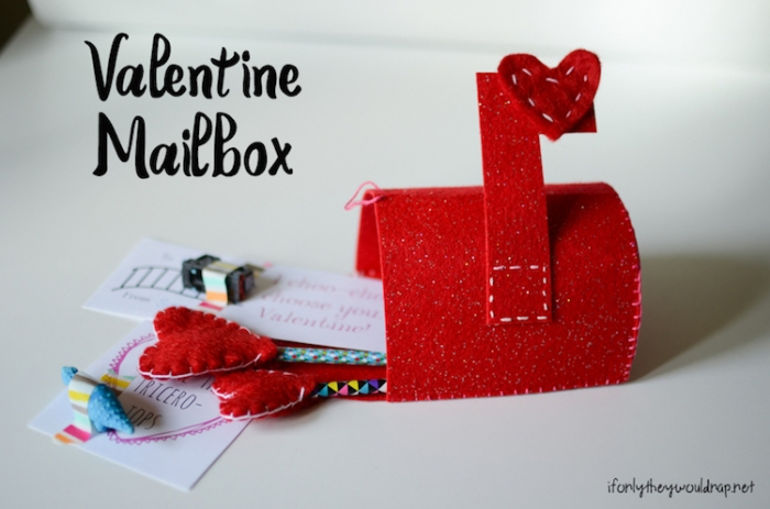 Make your own Valentine Mailbox