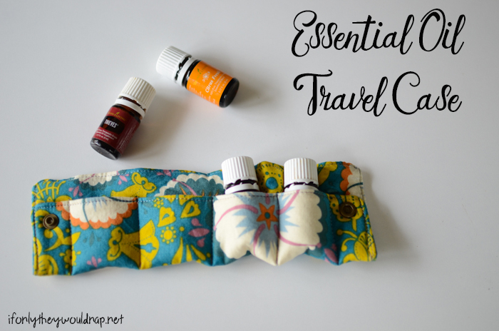 Essential Oil Travel Case