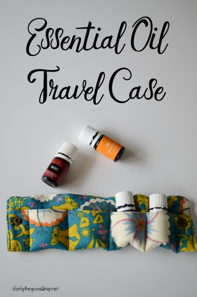 Essential Oil Travel Case Tutorial