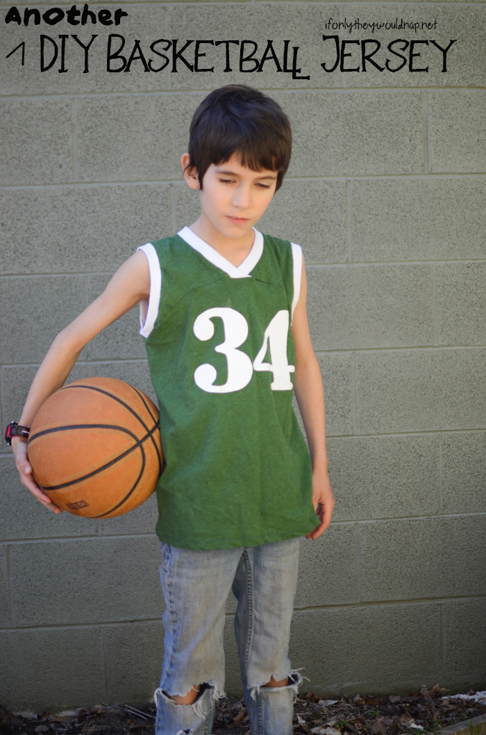 Another DIY Basketball Jersey