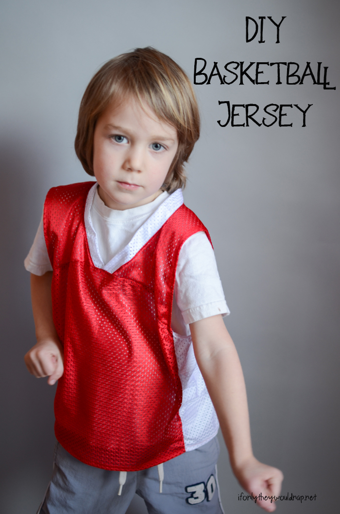 DIY Basketball Jersey