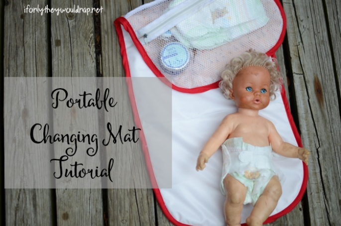 Portable Diaper Changing Mat Tutorial