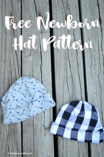 f5971a0b9 Free Newborn Baby Hat Pattern – Silo & Sage