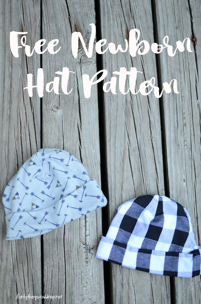 free baby hat pattern | If Only They Would Nap...