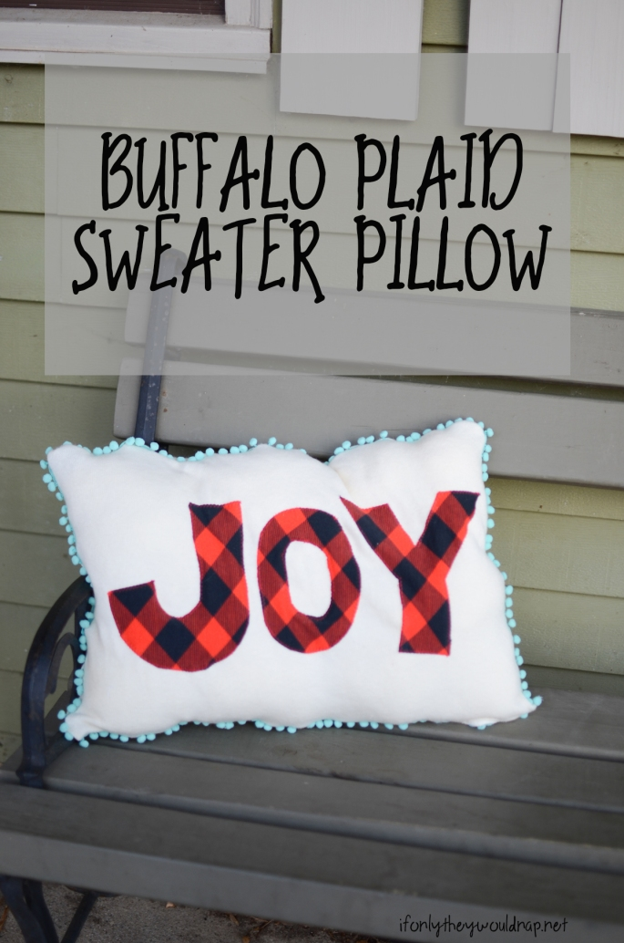 diy-buffalo-plaid-sweater-pillow
