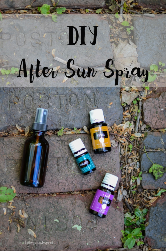 DIY After Sun Spray Recipe